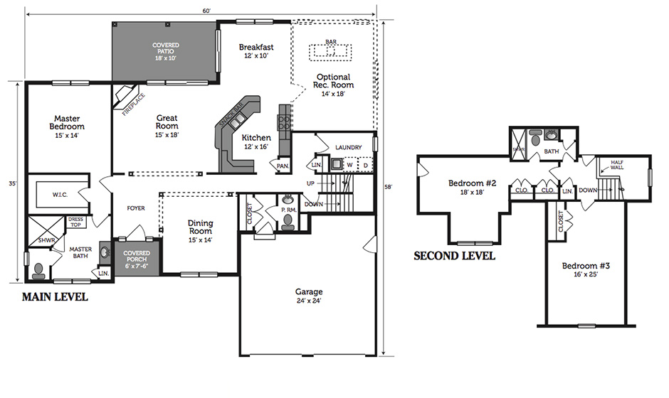 Alden Floorplan