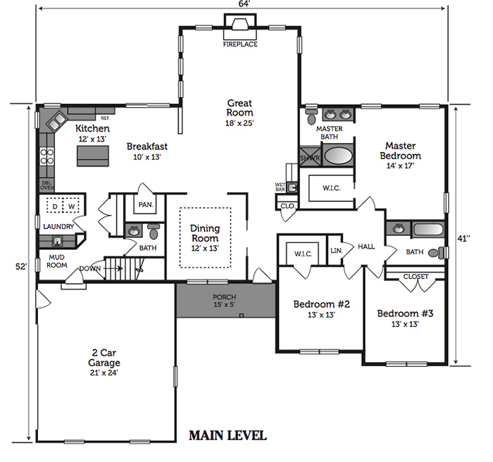 Vivian Floorplan