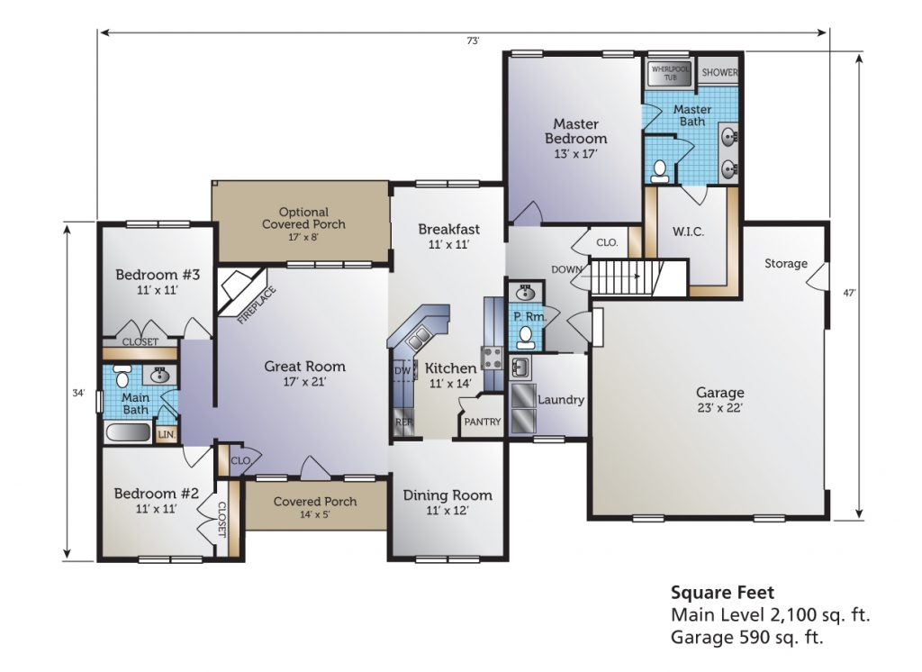 The Adalynn Floor Plan