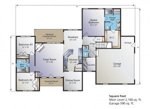 The Adalyn Home Model Floor Plan